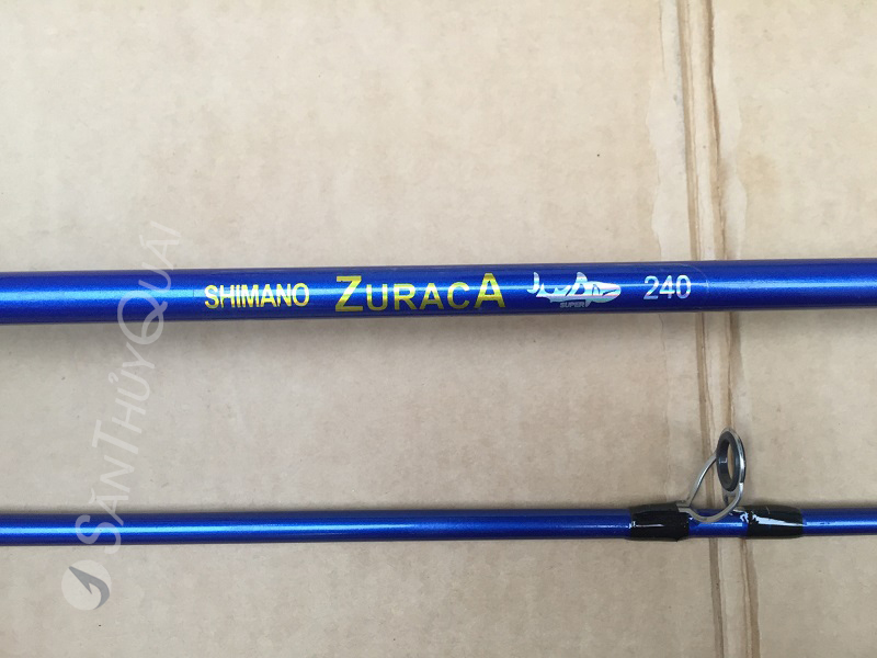 Cần câu máy 2 khúc đặc Shimano Zuraca184