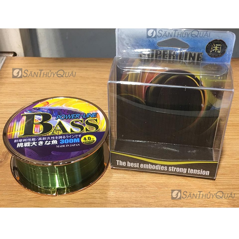 Dây câu cá Bass power line
